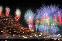 Fogo de artificio na Madeira