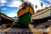 Barcos Varados na baia
