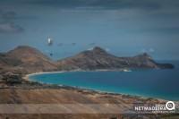 Parapente na ilha Dourada
