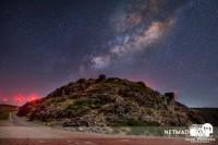 Beleza dos cosmos no Paul da Serra