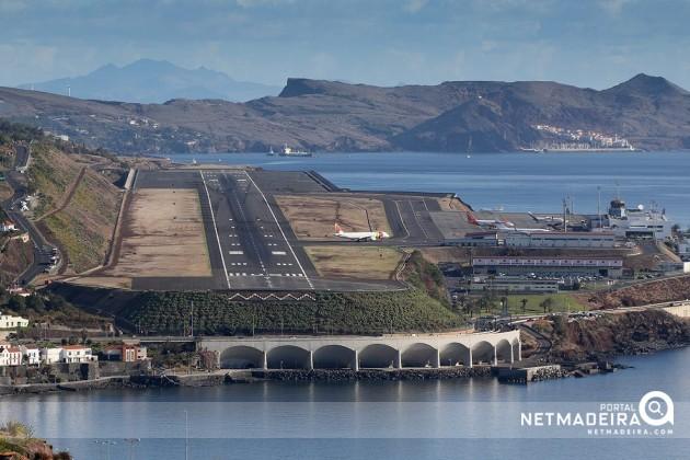 Aeroporto Cristiano Ronaldo : Foto do dia portal netmadeira aeroporto cristiano