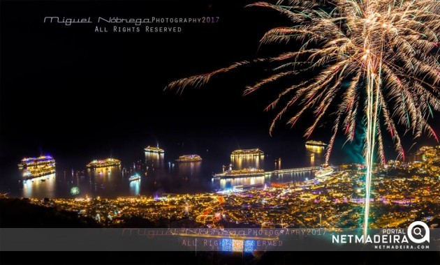 Fogo de Artificio - Ilha da Madeira