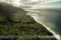Vista aerea pela ilha