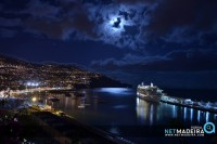 Luar na baia do Funchal