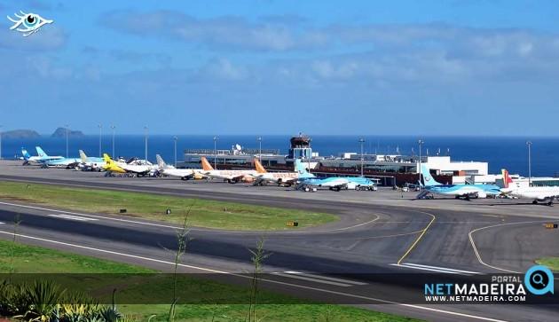 Aeroporto Madeira : Foto do dia portal netmadeira aeroporto da madeira