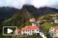Imagens aereas do Curral das Freiras - Madeira