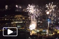 Fireworks filmed with a drone in Funchal - Madeira