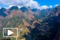 Curral das Freiras aerial view