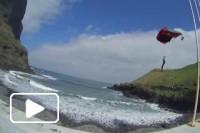 Base jumping no Porto da Cruz e Cabo Girao - Madeira