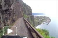 Estrada regional - Boaventura, Madeira
