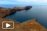 Vista aérea - Ponta de São Lourenço