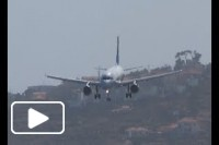 Aterragem na Ilha da Madeira