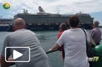 Olhares - Navio de cruzeiro Porto do Funchal