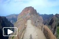 Percurso no Pico Arieiro - Pico Ruivo