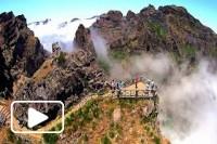 Paisagens da Ilha da Madeira - Vista Aérea