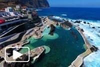 Porto Moniz Piscinas Naturais - Vista Aérea