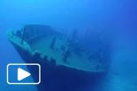 Mergulho ate ao navio Madeirense