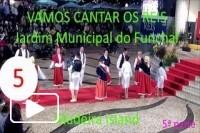Vamos cantar os Reis - Jardim Municipal do Funchal