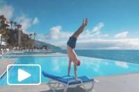 Madeira fazer exercício em 'alto estilo'