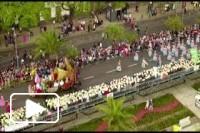 Vista aérea - Festa da Flor 2018